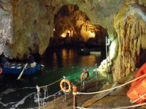 amalfi boat tours - the emerald grotto